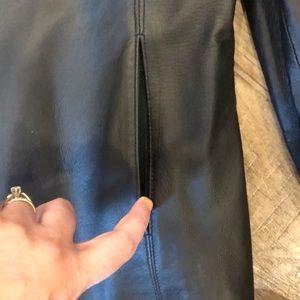 Worthington Jackets & Coats - Black leather jacket! Petite Medium